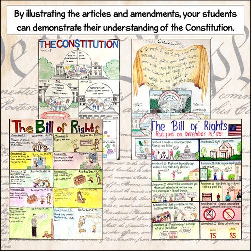 Project Bundle: Illustrating the Articles and the Bill of Rights