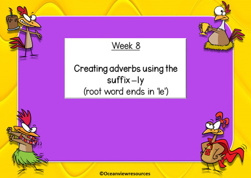 Spelling Term 1 Grade 3