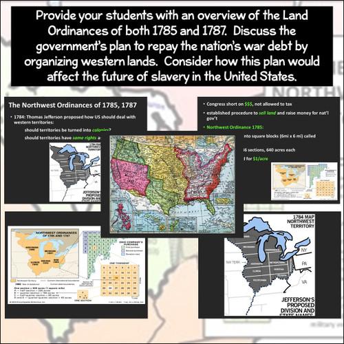 Mini-Lesson: The Ordinances of 1785 and 1787