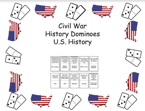 History Dominoes - Civil War -