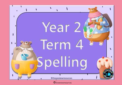 Spelling Term 4 Grade 2
