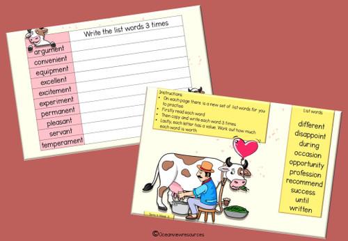 Spelling Term 4 Grade 6