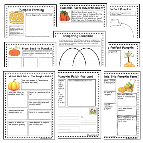 Virtual Field Trip to the Pumpkin Patch (Remote Ready Resource)