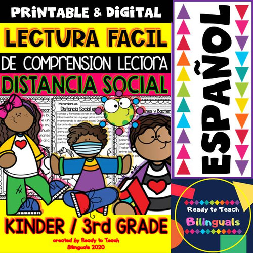 Reading Comprehension in Spanish - Social Distance- Distance Learning