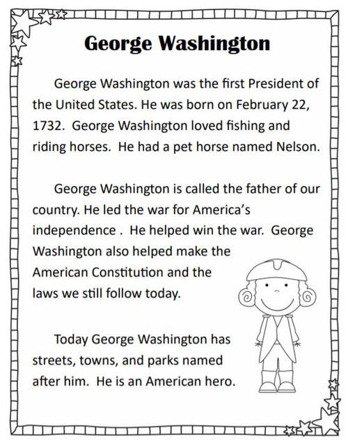 Presidents' Day Venn Diagram *No Prep Printables*