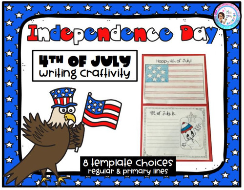 4th of July Writing Craftivity
