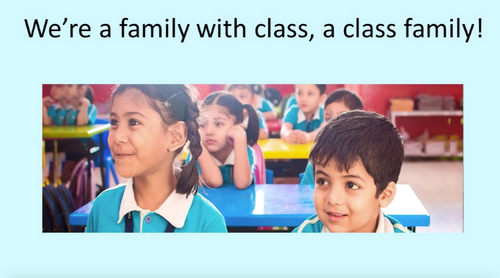 'A CLASS FAMILY' (Grade Pre K-3) ~ Curriculum Song Video