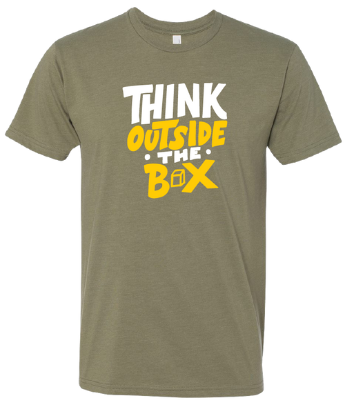 """""""Think Outside the Box"""" Crew T-Shirt"""