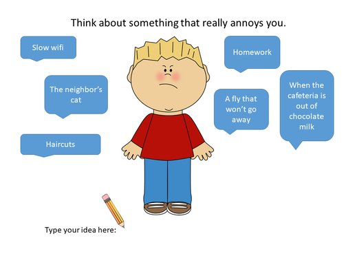 Google Slides Digital Persuasive Writing Practice: The Most Annoying Thing Ever
