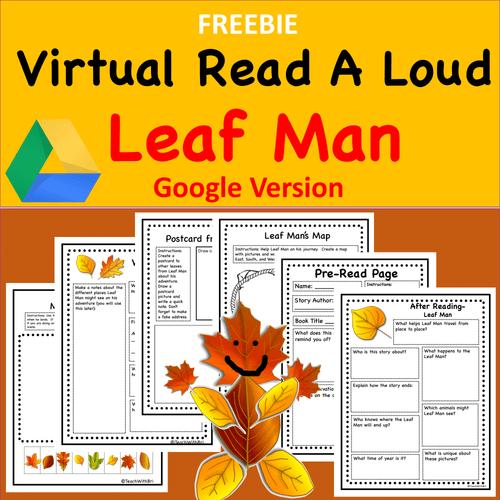 FREEBIE-  Virtual Read-A-Loud- Leaf Man - Digital and PDF Included