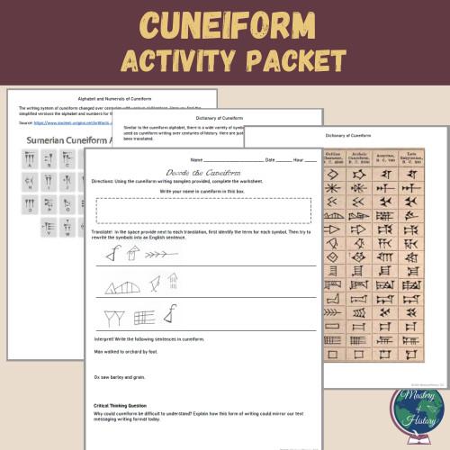 Cuneiform Activity Packet