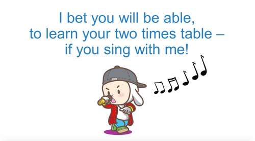 '2 TIMES TABLE' ~ Curriculum Song Video