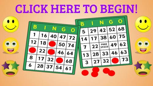 Math Interactive Virtual Bingo!  For All Math Teachers!