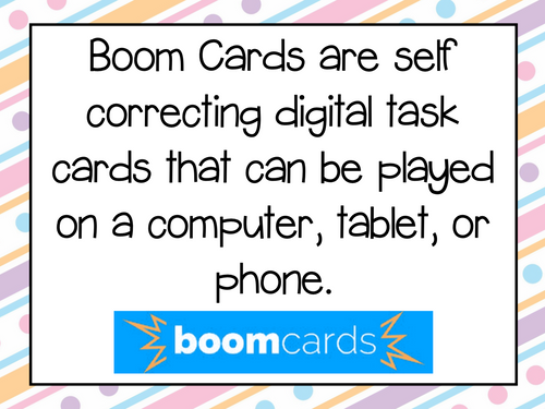 Parallel Lines and Parallelograms Boom Cards for Distance Learning