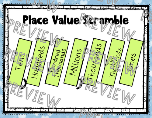 Place Value, Rounding, and Comparing Digital Google Classroom Distance Learning