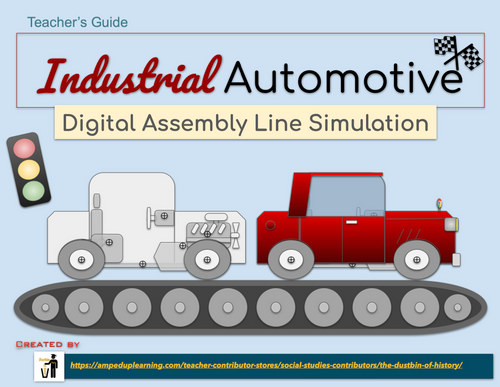 Digital Assembly Line Simulation (Google Slides Based)
