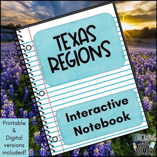 Texas Regions Unit BUNDLE