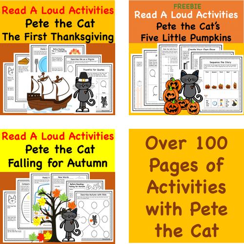 Digital Version- Discount Bundle- Pete the Cat Favorite Fall Stories
