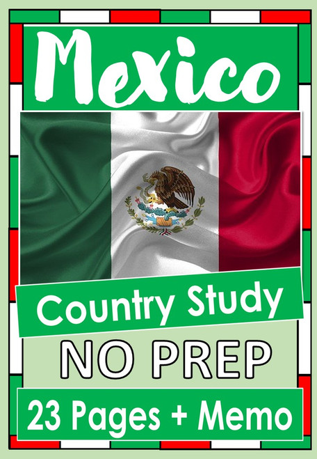 Mexico - Country Study / Research Project