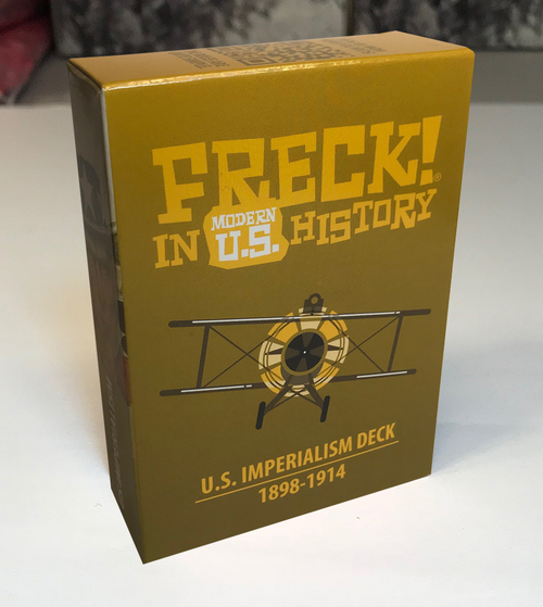 """U.S. Imperialism"" DECK | FRECK! Modern U.S."