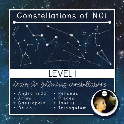 Constellations | Northern Celestial Quadrant 1 | Boom Cards™ + Nomenclatures