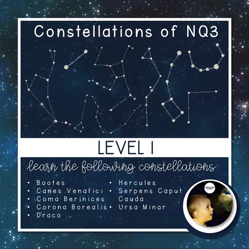 Constellations | Northern Celestial Quadrant 3 | Boom Cards™ + Nomenclatures