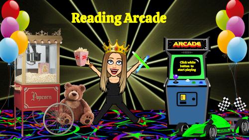 Bitmoji Classroom - Reading & Math Arcade K-4 Template