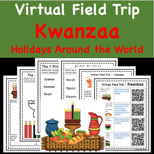 Holidays Around the World Virtual Field Trip- Kwanzaa