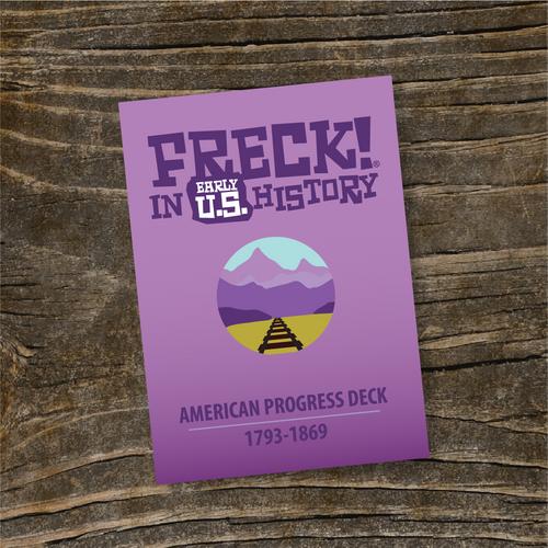 """""""American Progress"""" - FRECK! Early U.S."""