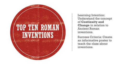 Ancient Rome Lesson Resources Pack