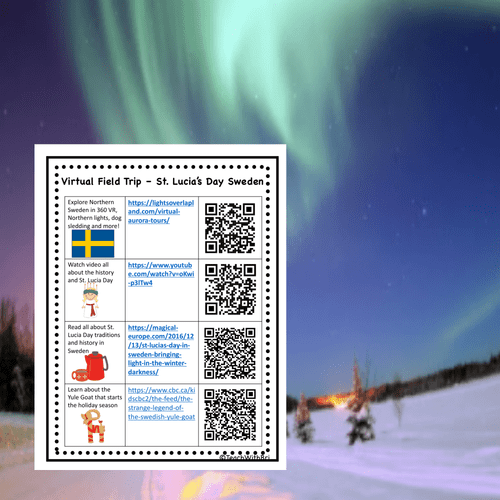 St Lucia's Day in Sweden Virtual Field Trip -  Holidays Around the World