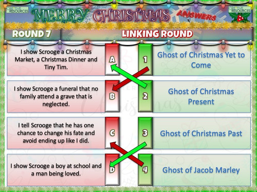 Christmas Quiz including RE and Moral Ethics