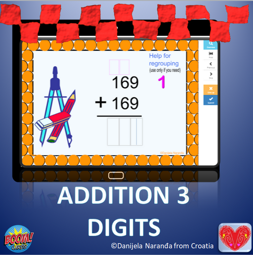 Addition 3 Digits With Regrouping Or Without Regrouping