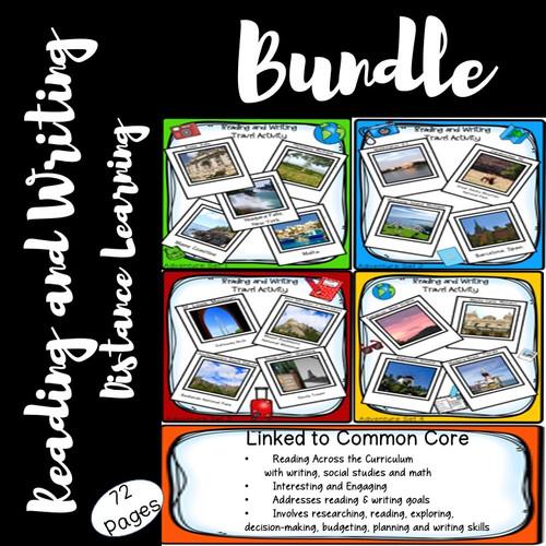 Reading & Writing Travel Activity Bundle