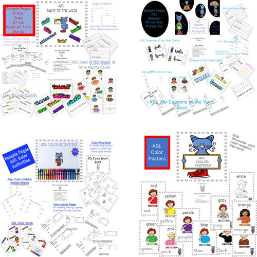 ASL Literacy Bundle