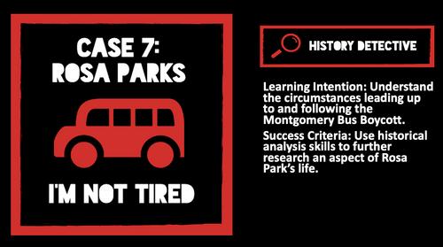 Case 7: Rosa Parks I'm Not Tired Podcast Lesson