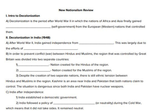 New Nationalism Review