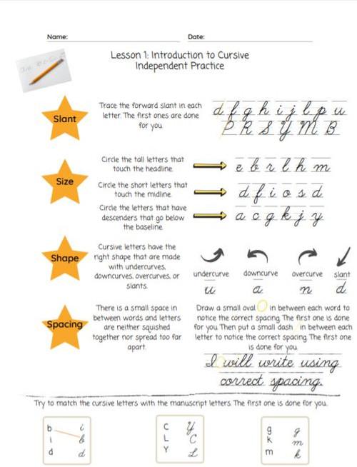 Complete Cursive Handwriting Course