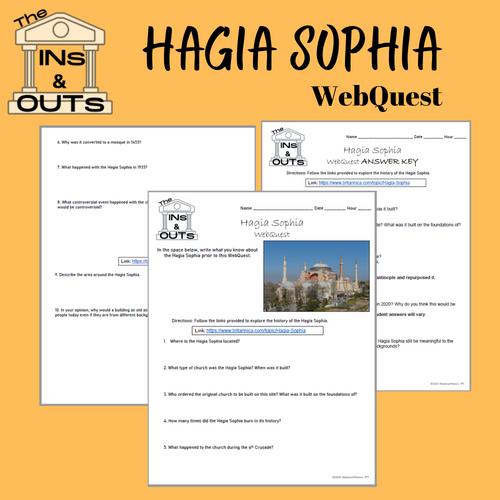 The Ins & Outs: Hagia Sophia
