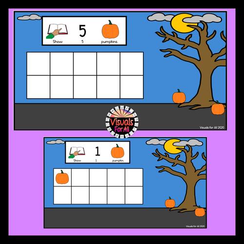 Halloween Counting 1-10 Google