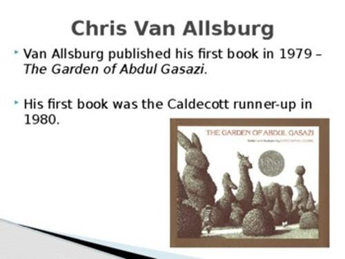 Chris Van Allsburg Biography