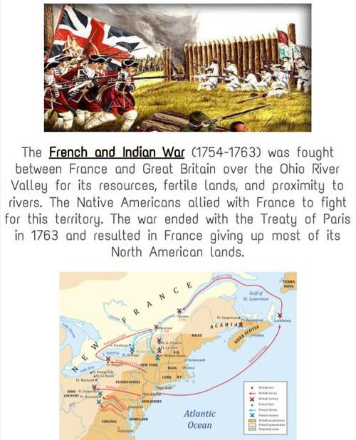 8th grade US History Classroom Timeline