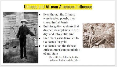 California Gold Rush Notes