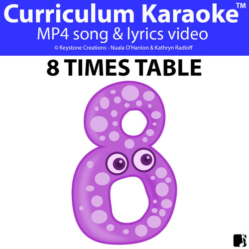 '8 TIMES TABLE' ~ Curriculum Song Video