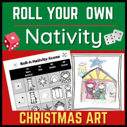Christmas Art Lesson: Roll-Your-Own-Nativity-Scene