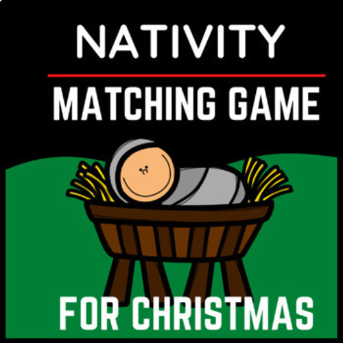 Christmas Matching Game | Christmas Game for Nativity Lessons