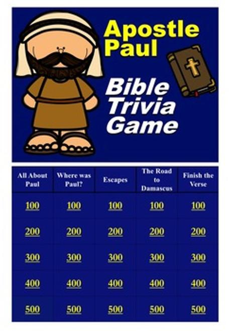 Bible Trivia Game Bundle - Buy 2, get one FREE
