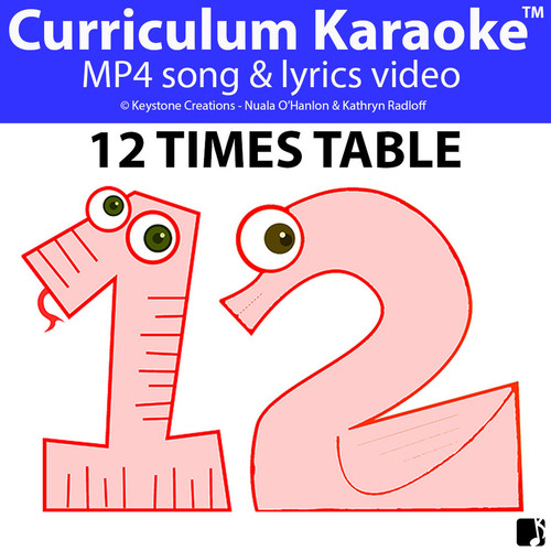 '12 TIMES TABLE' ~ Curriculum Song Video