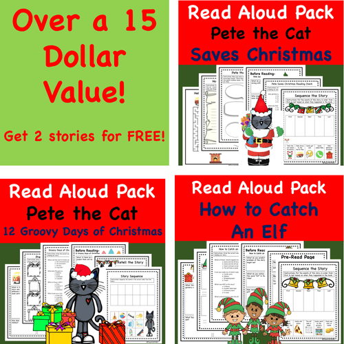 Discount Bundle- Christmas Read-A-Loud Favorite Holiday Stories