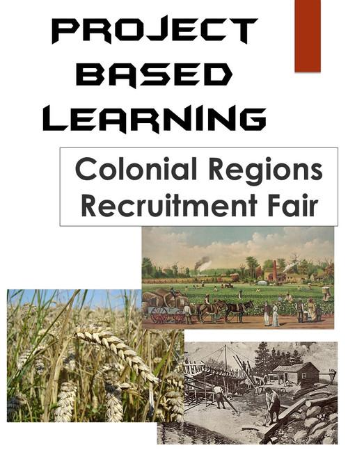 Colonial Regions Recruitment Fair: 13 Colonies PBL